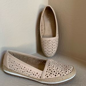 Naturalizer Leather Espadrille Flat